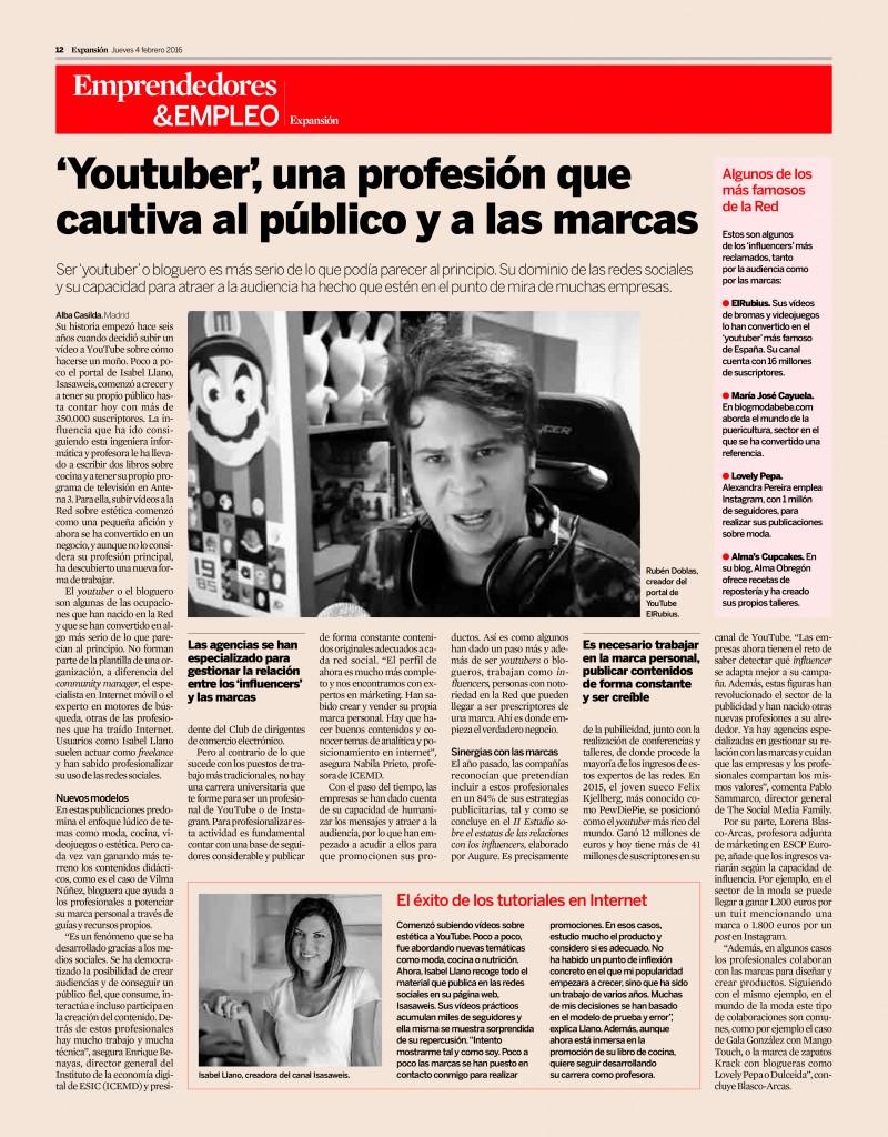 Maria Jose Cayuela Expansión famosos de la red (1)