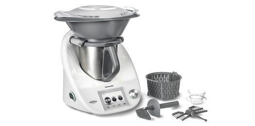 Thermomix with Varoma - all parts