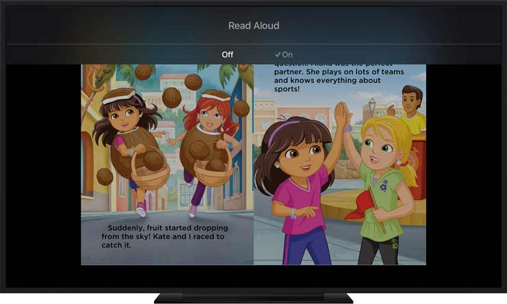 iBook StoryTime, la app de Apple para que los niños aprendan a leer