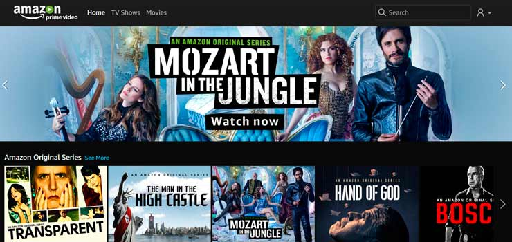 amazon prime video la alternativa a netflix