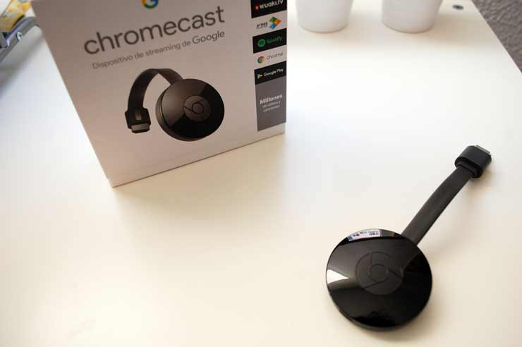 Chromecast el dispositivo de streaming de Google