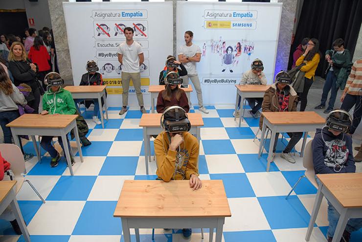 mamitech bullying realidad virtual