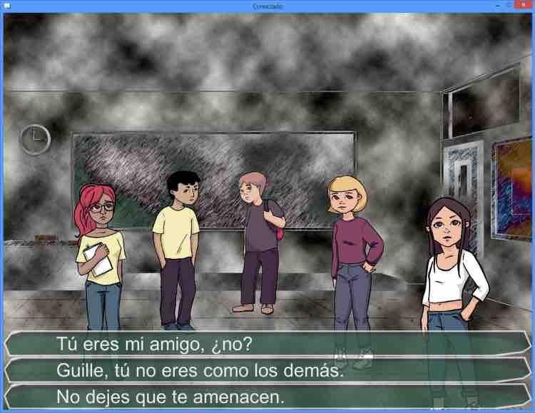 stop bullying videojuego conectado Mamitech
